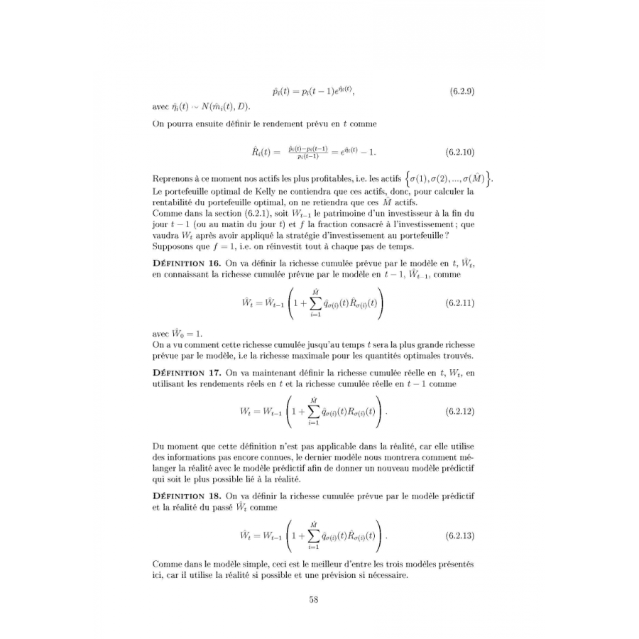 Master thesis mathematics